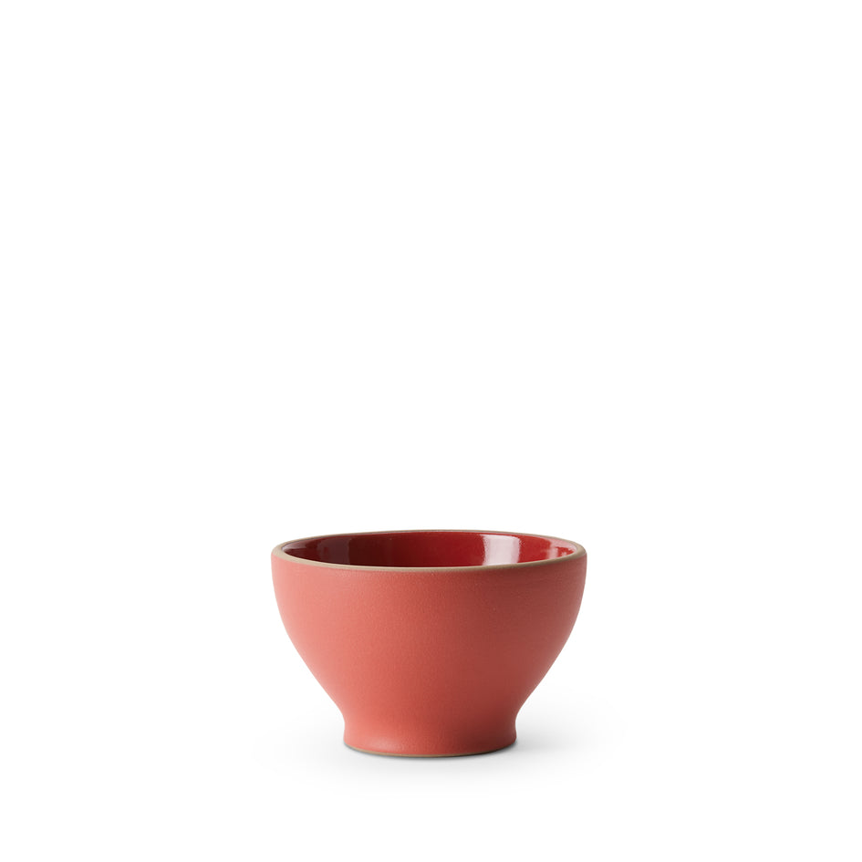 Chez Panisse Cafe Bowl in Ruby Red/Suede Red Image 1