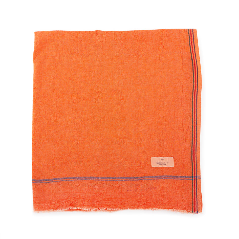 Sadhu Towel in Orange Image 1