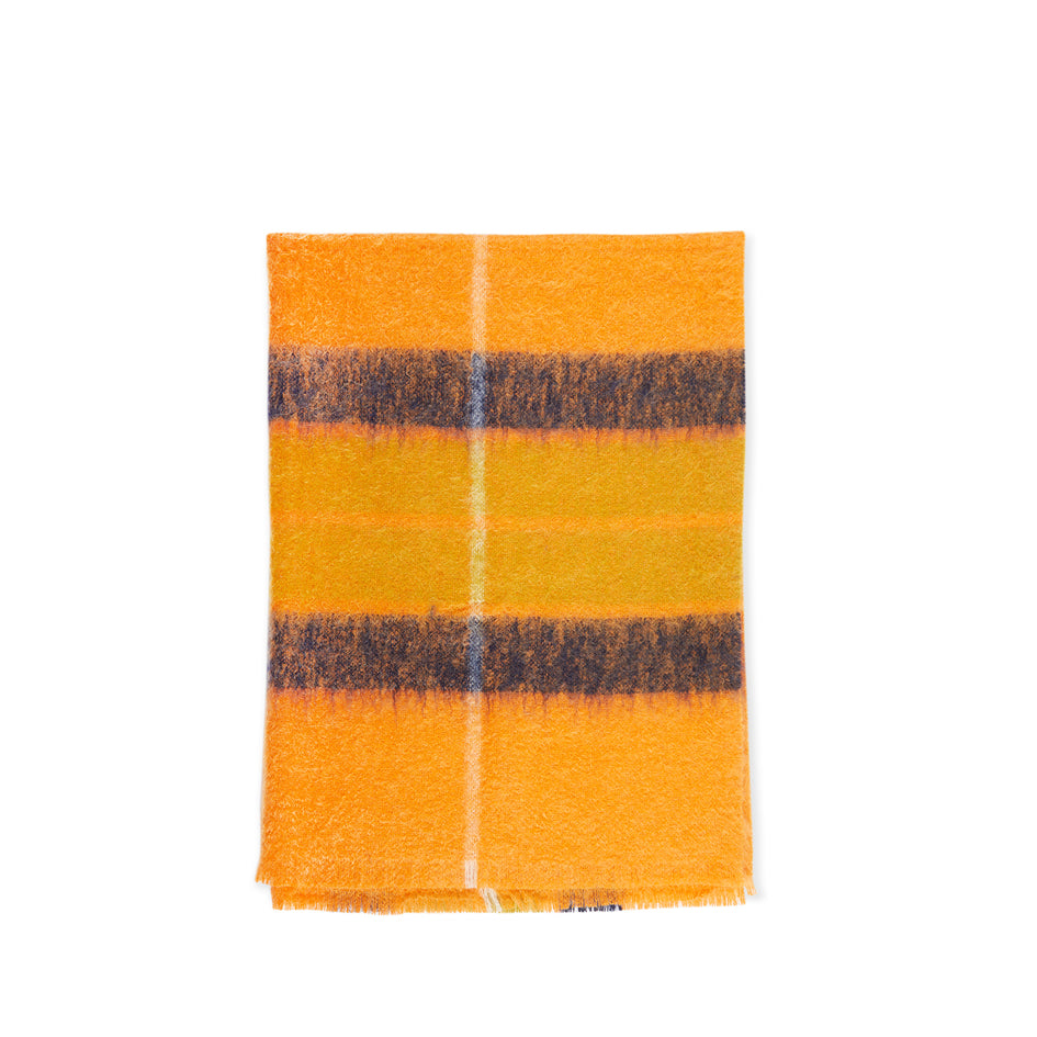 Ecosse Throw in Marigold Image 1