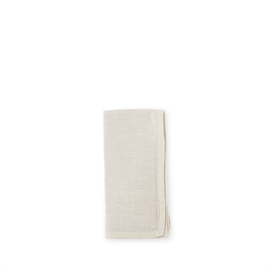 Linen Frame Napkin in Natural Image 1