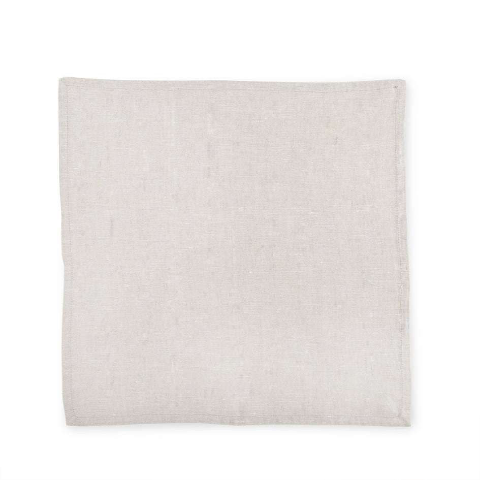 Linen Frame Napkin in Natural Image 3