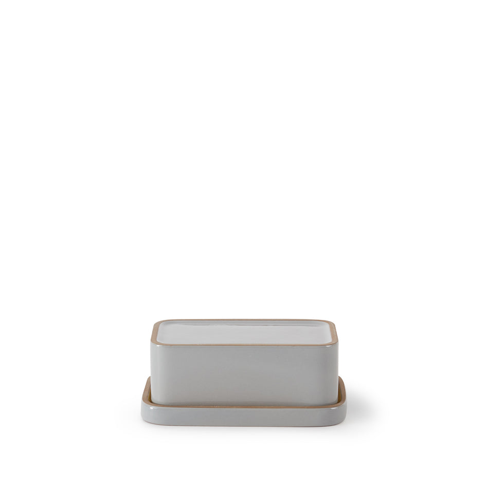 Butter Dish in Yuzu and Light Grey Whale Zoom Image 5