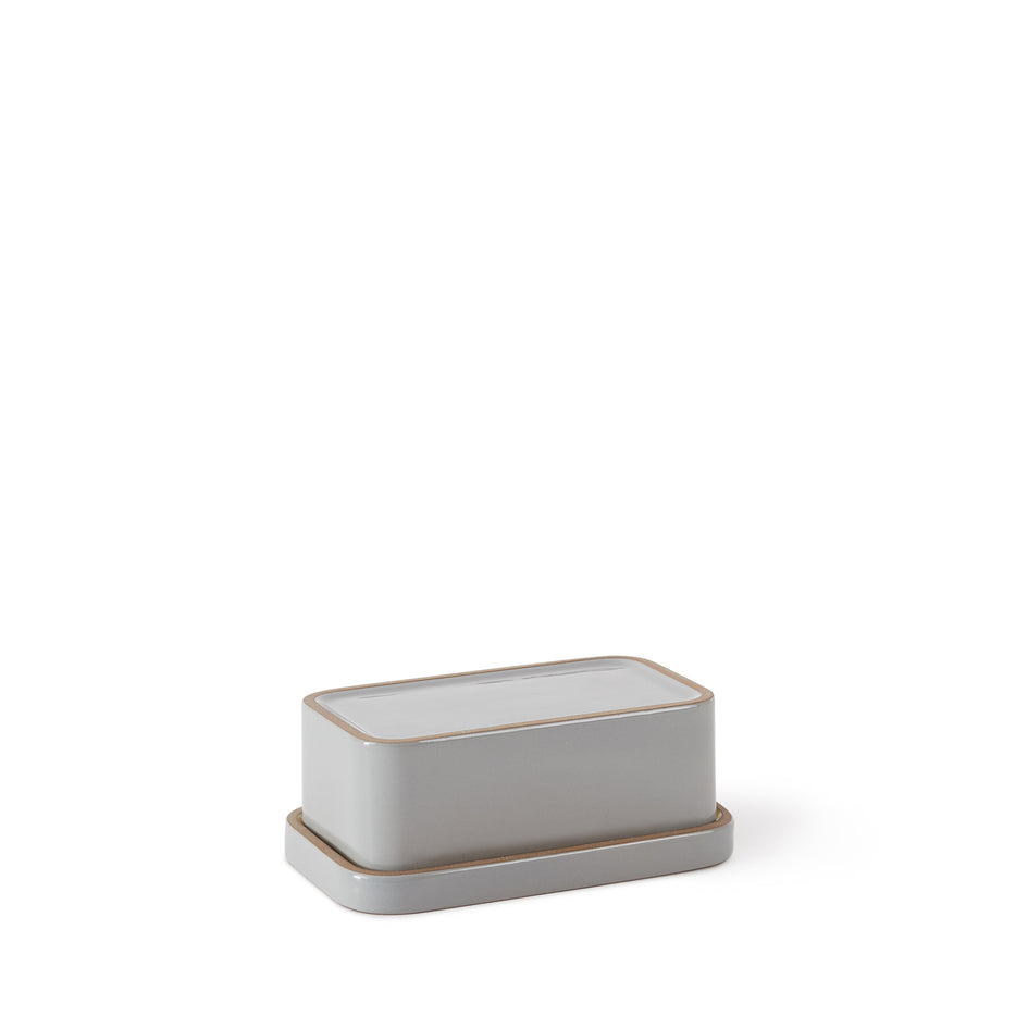 Butter Dish in Yuzu and Light Grey Whale Zoom Image 4