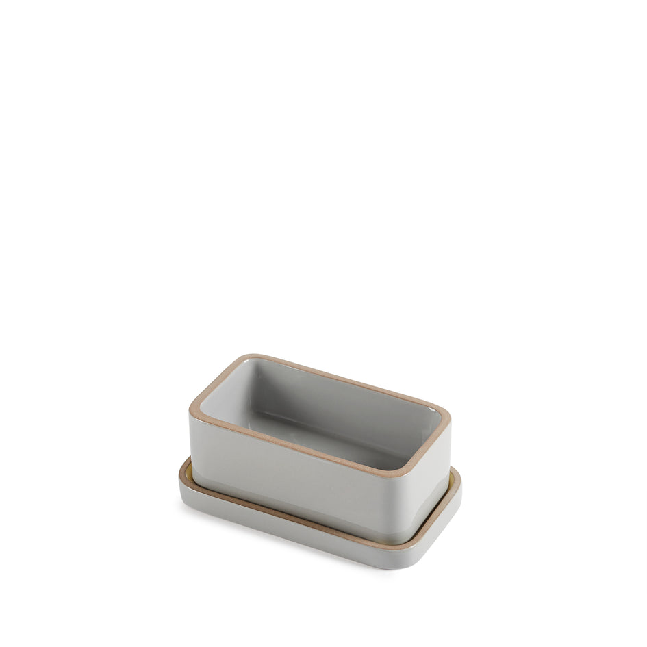 Butter Dish in Yuzu and Light Grey Whale Zoom Image 6