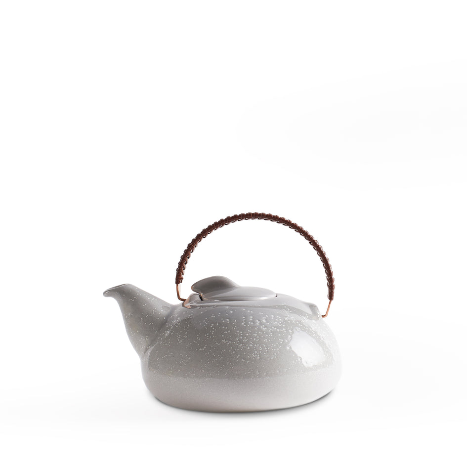 Large Teapot in Light Grey Whale Gradient Image 1
