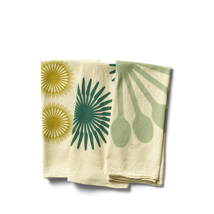 Muir Flour Sack Tea Towels in Nicasio (Set of 3)