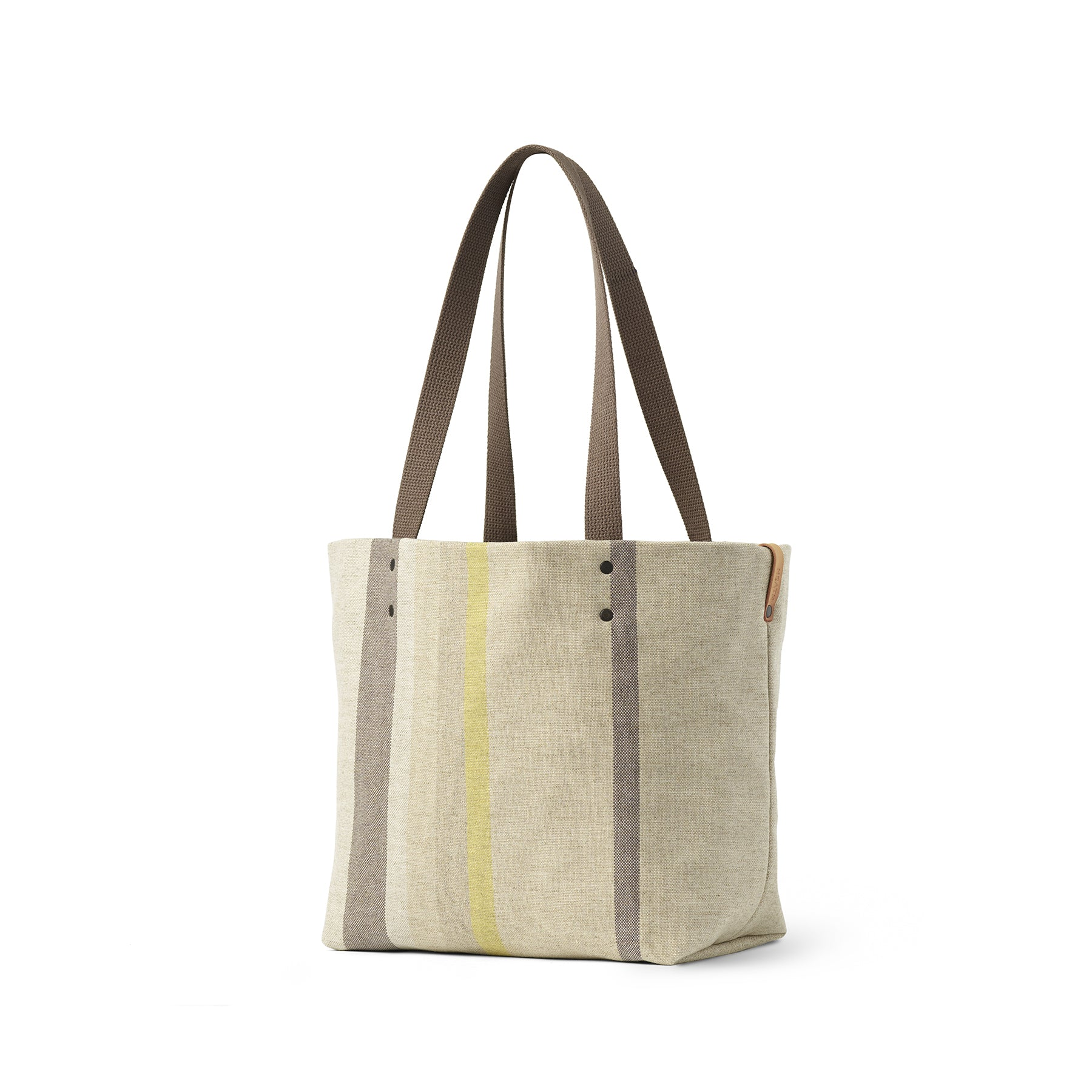 Reversible Tote in Multi-Stripe Zoom Image 1