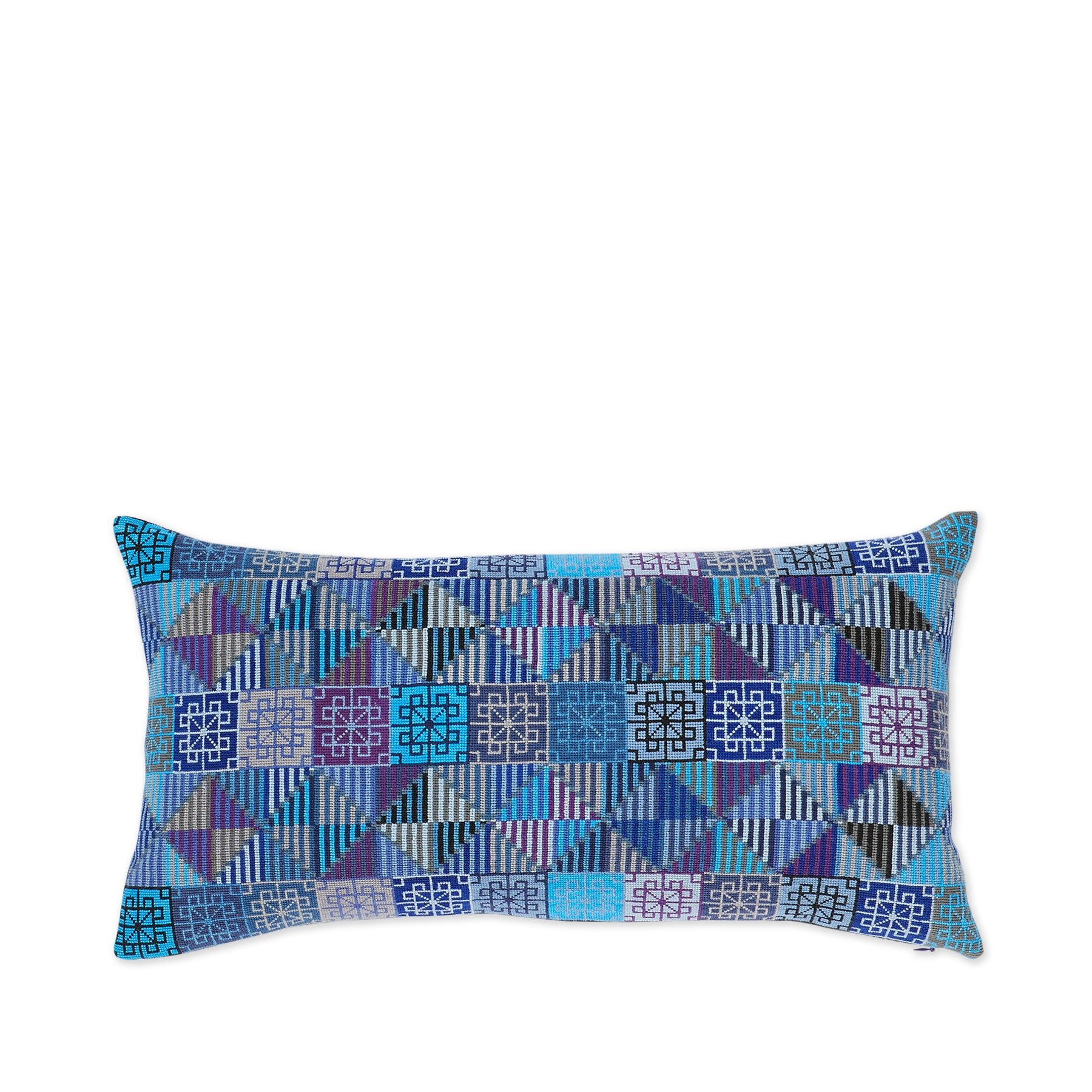 Ola Pillow in Blue Zoom Image 1