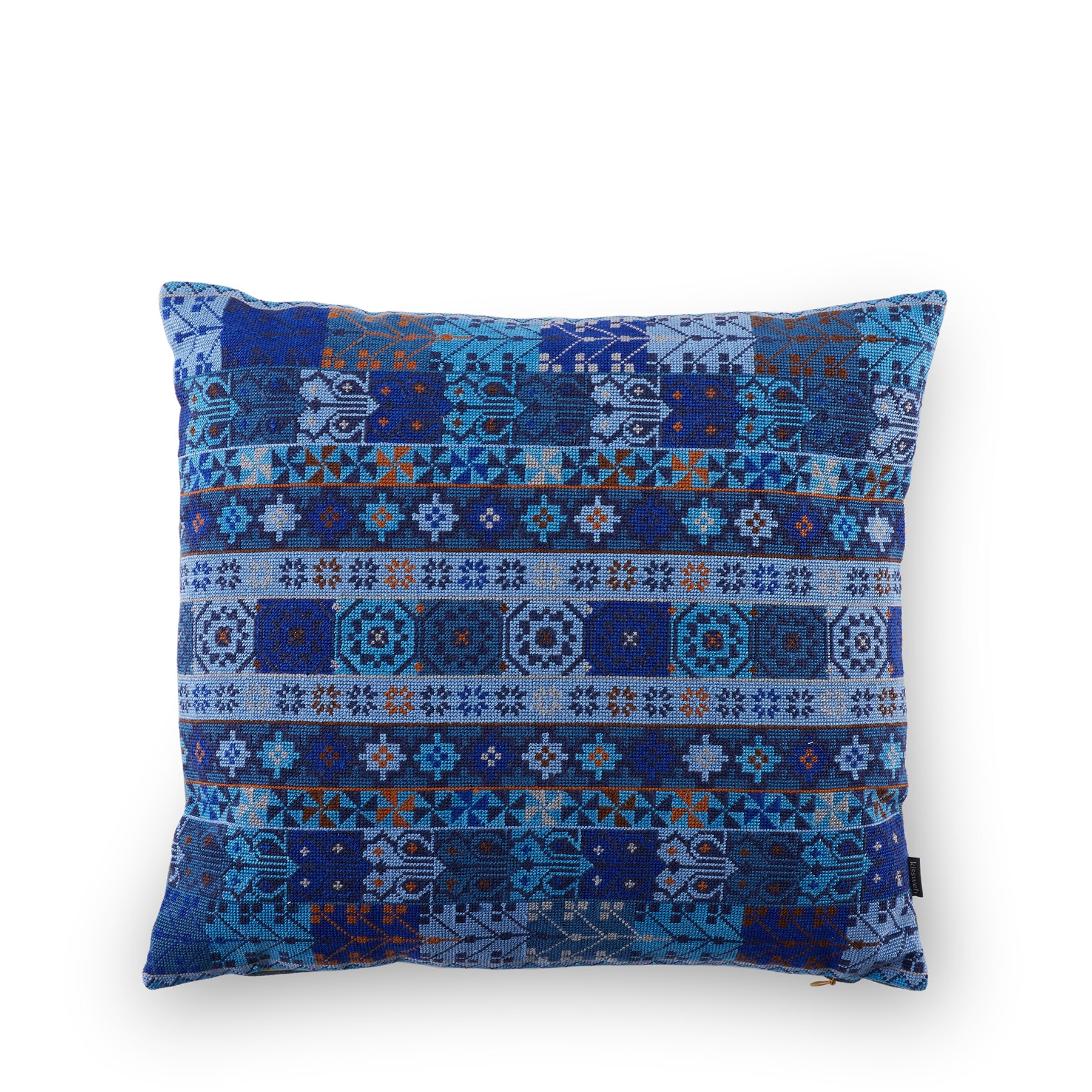 Malak Pillow in Indigo Zoom Image 1