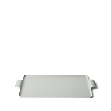 Pressed Tray in Silver 11 x 14.5