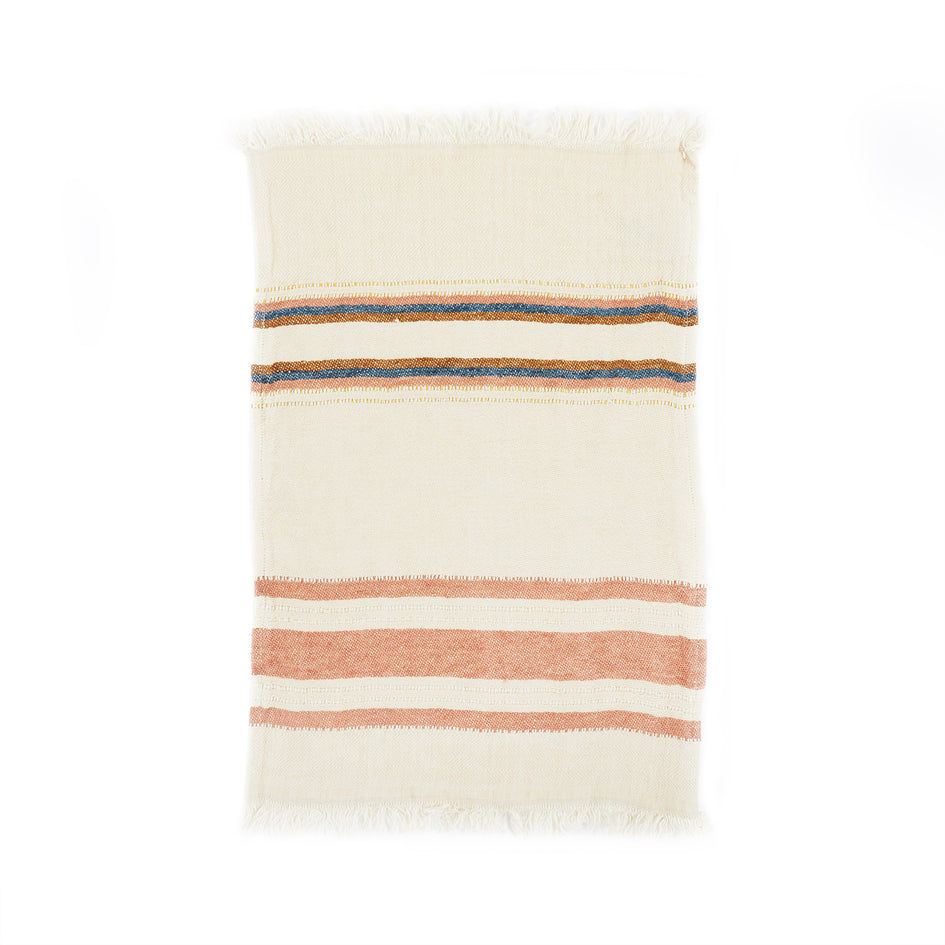 Small Fouta in Harlan Stripe Image 2