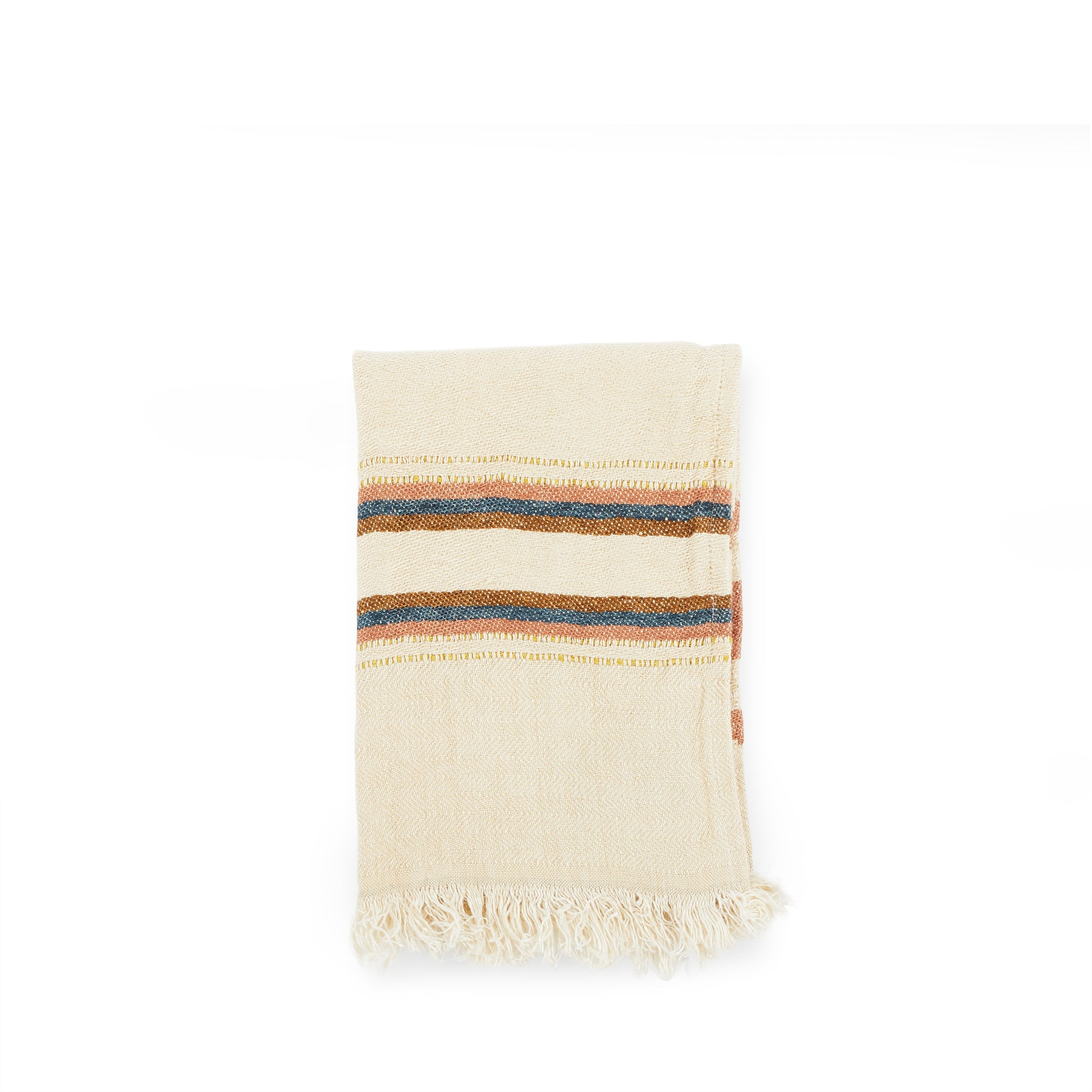 Small Fouta in Harlan Stripe Zoom Image 1