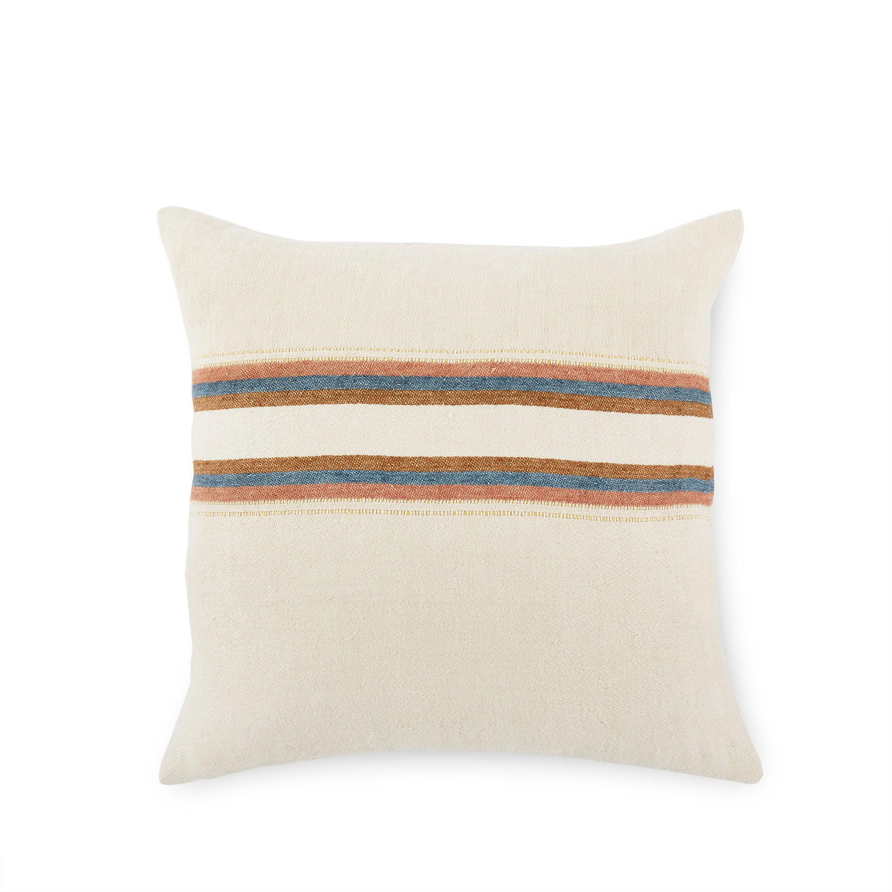 Belgian Pillow in Harlan Stripe Zoom Image 1