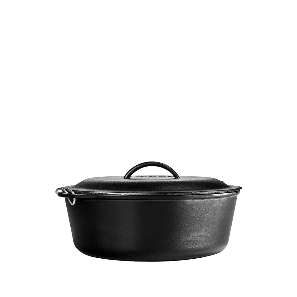 Cast Iron Dutch Oven with Spiral Handle 9qt Image 2