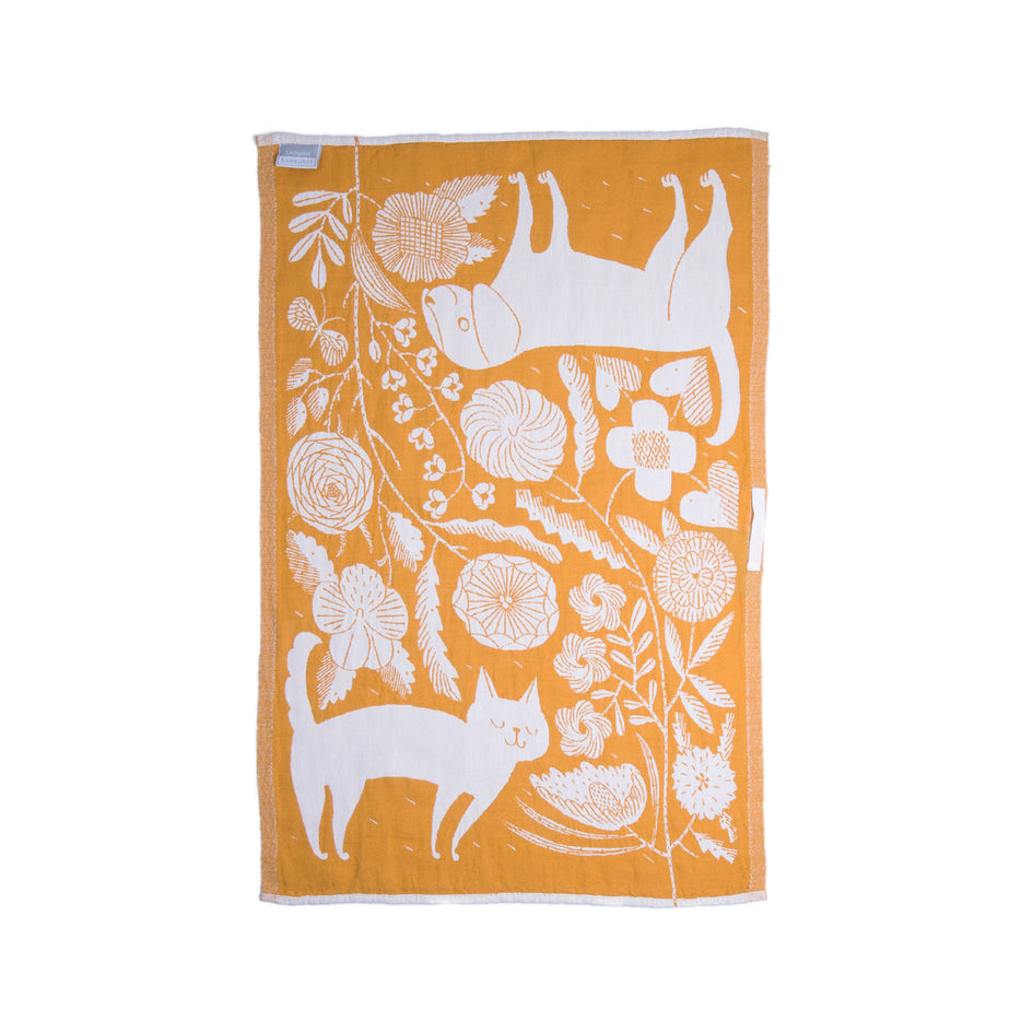 Koira Tea Towel in Cloudberry Image 3