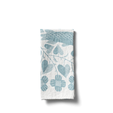 Kala Tea Towel in Turquoise