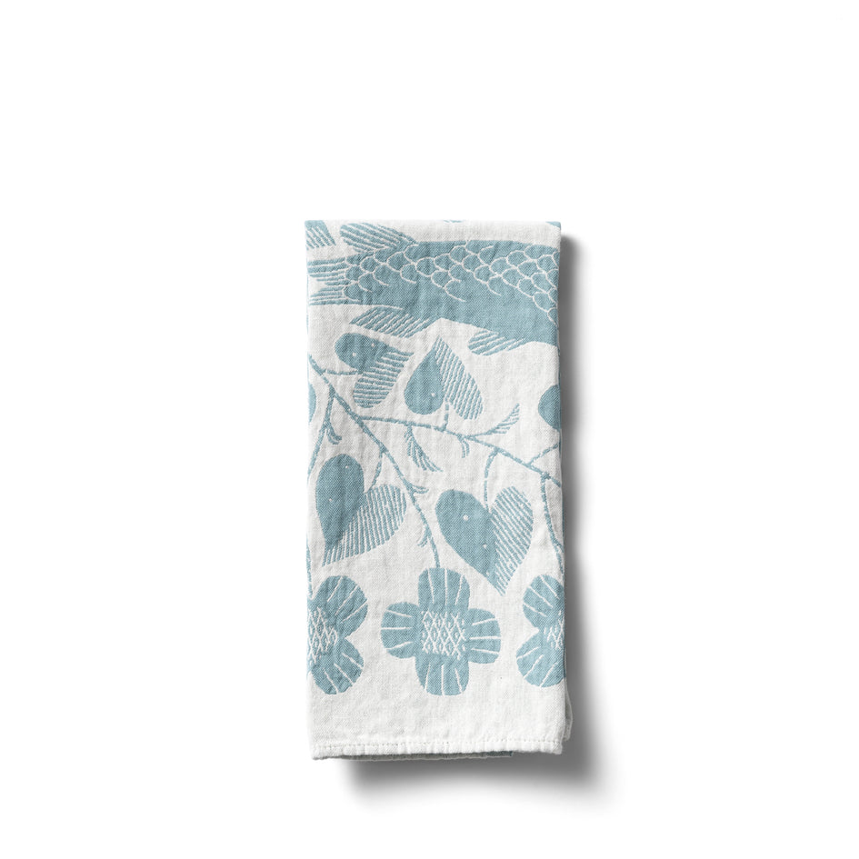 Kala Tea Towel in Turquoise Image 1
