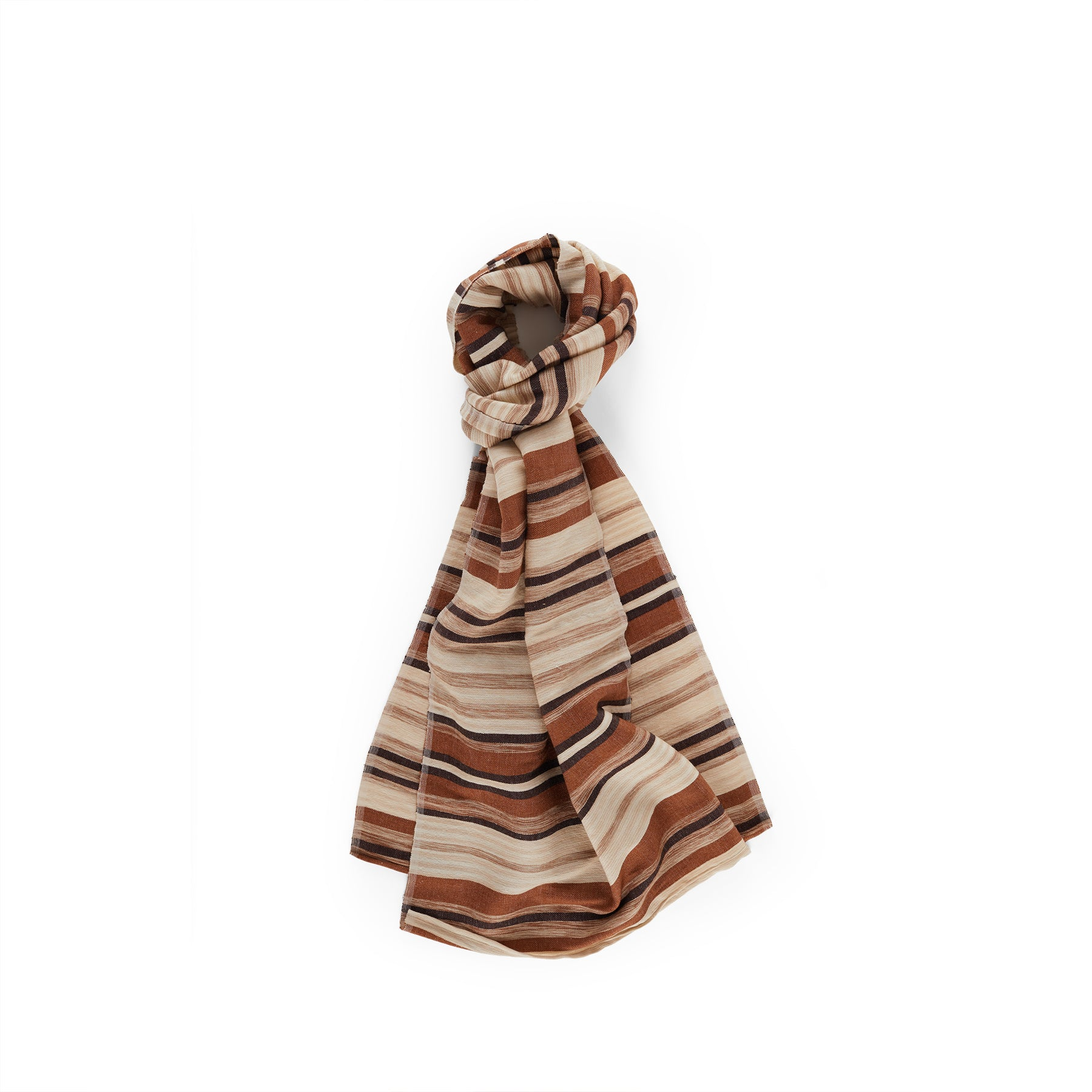 Desert Scarf in Mahogany Zoom Image 1