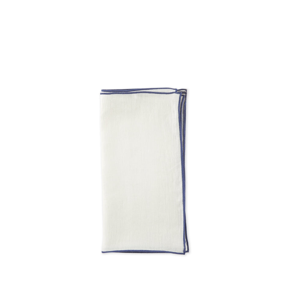 Small Napkins in Anafe White (Set of 4) Image 1