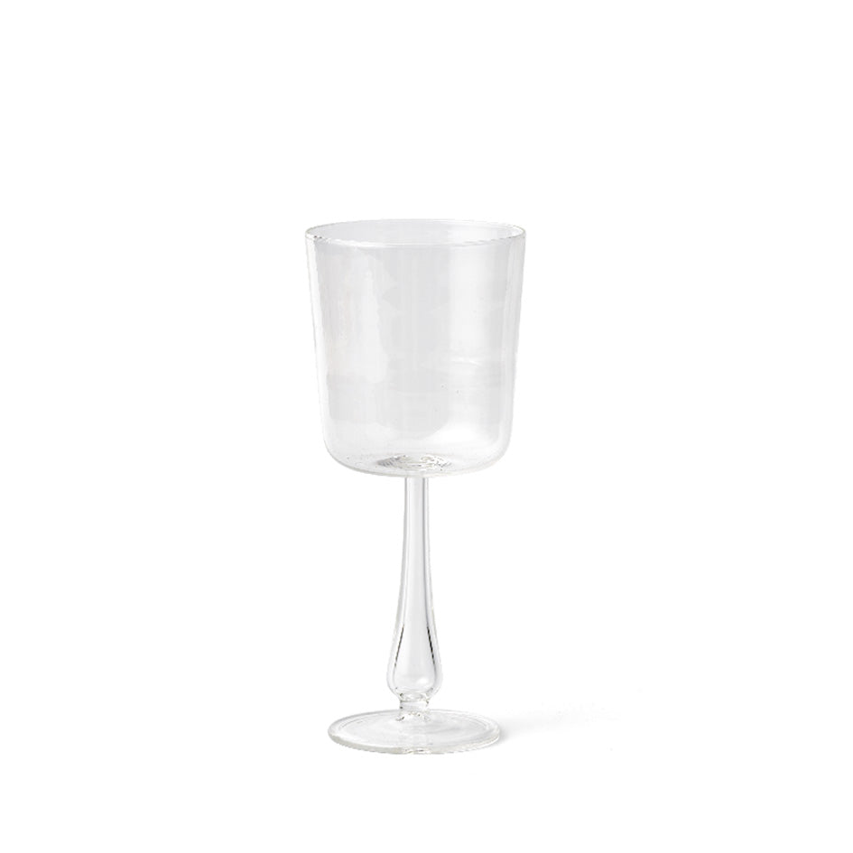 Luisa Calice Stem Glass in Clear (Set of 2) Zoom Image 1