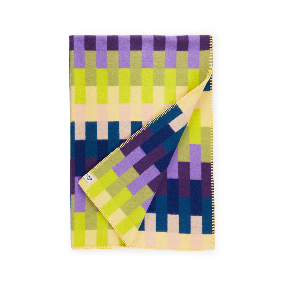 Asmund Bold Throw in Violet Yellow Image 1