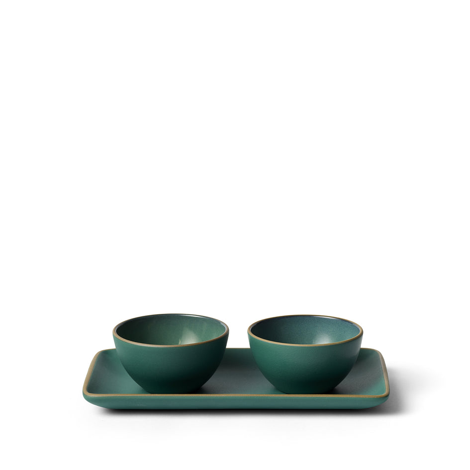 Dessert Bowl in Emerald Gloss/Emerald Zoom Image 2