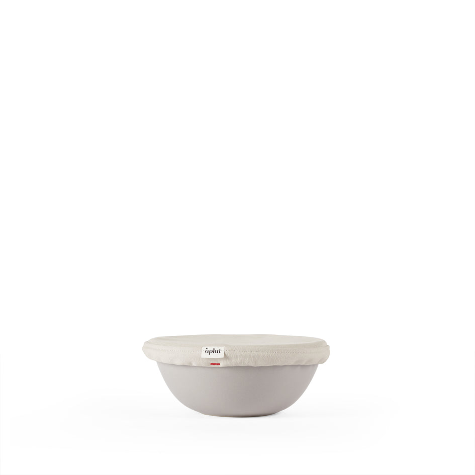 Couvre-Plat Round Small Bowl Cover in Stone Image 1