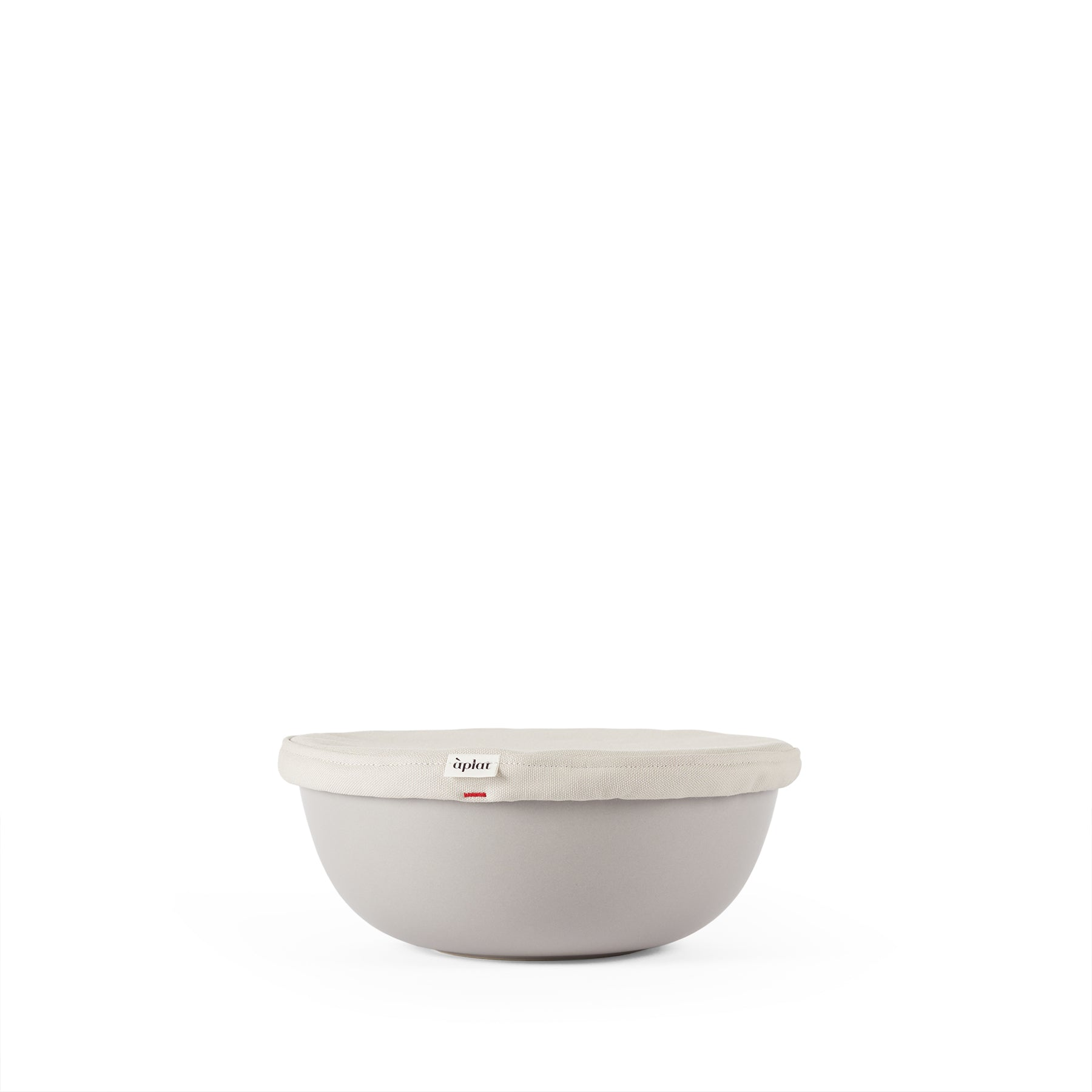 Couvre-Plat Round Medium Bowl Cover in Stone Zoom Image 1