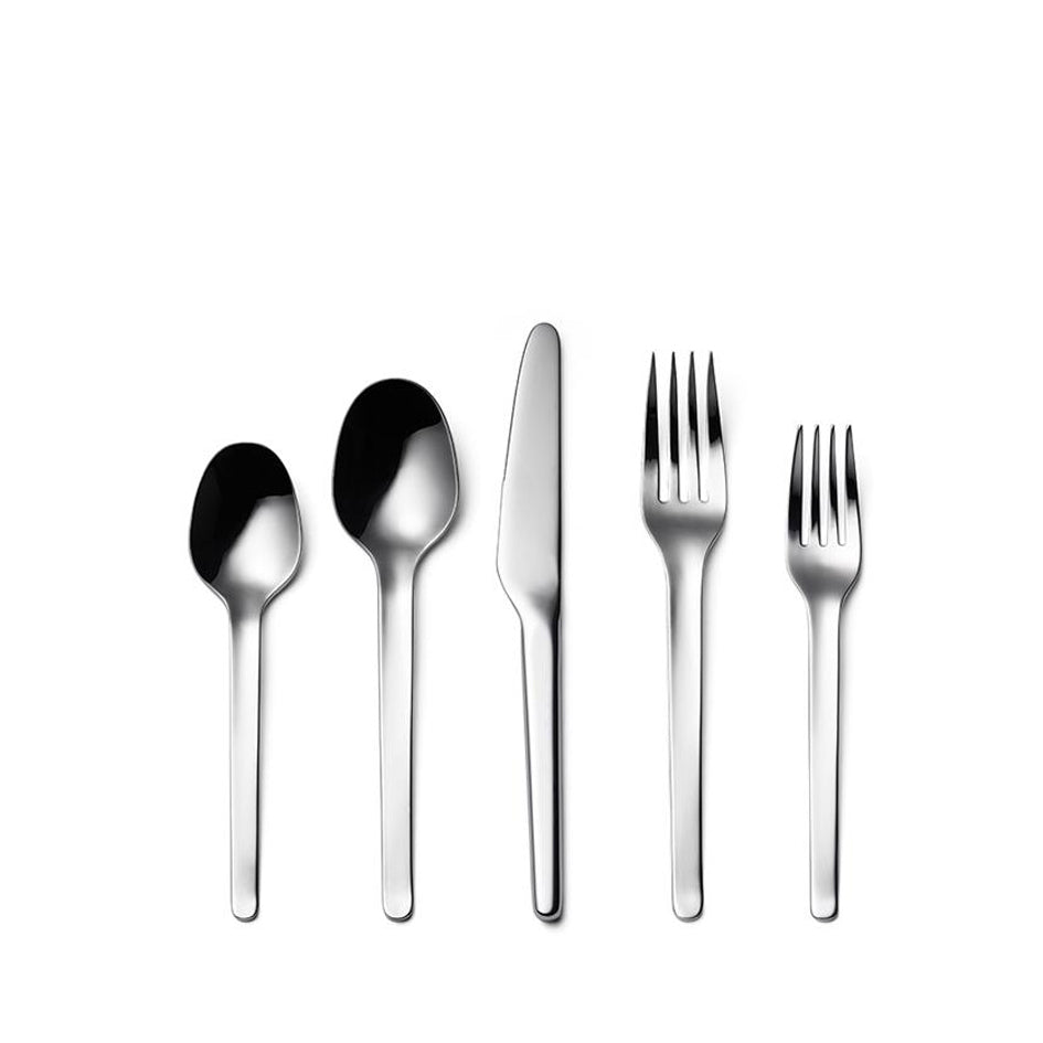 Muir Flatware in Polished (5 piece setting) Zoom Image 1