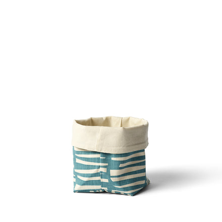 Woodpile Small Soft Bucket in Teal