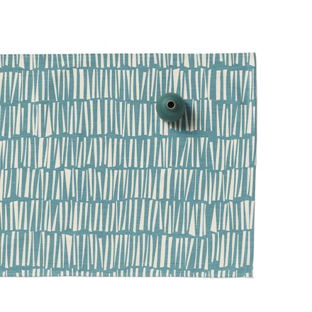 Woodpile Runner in Teal