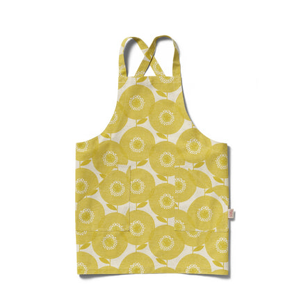 Flowerfields Apron in Goldenrod