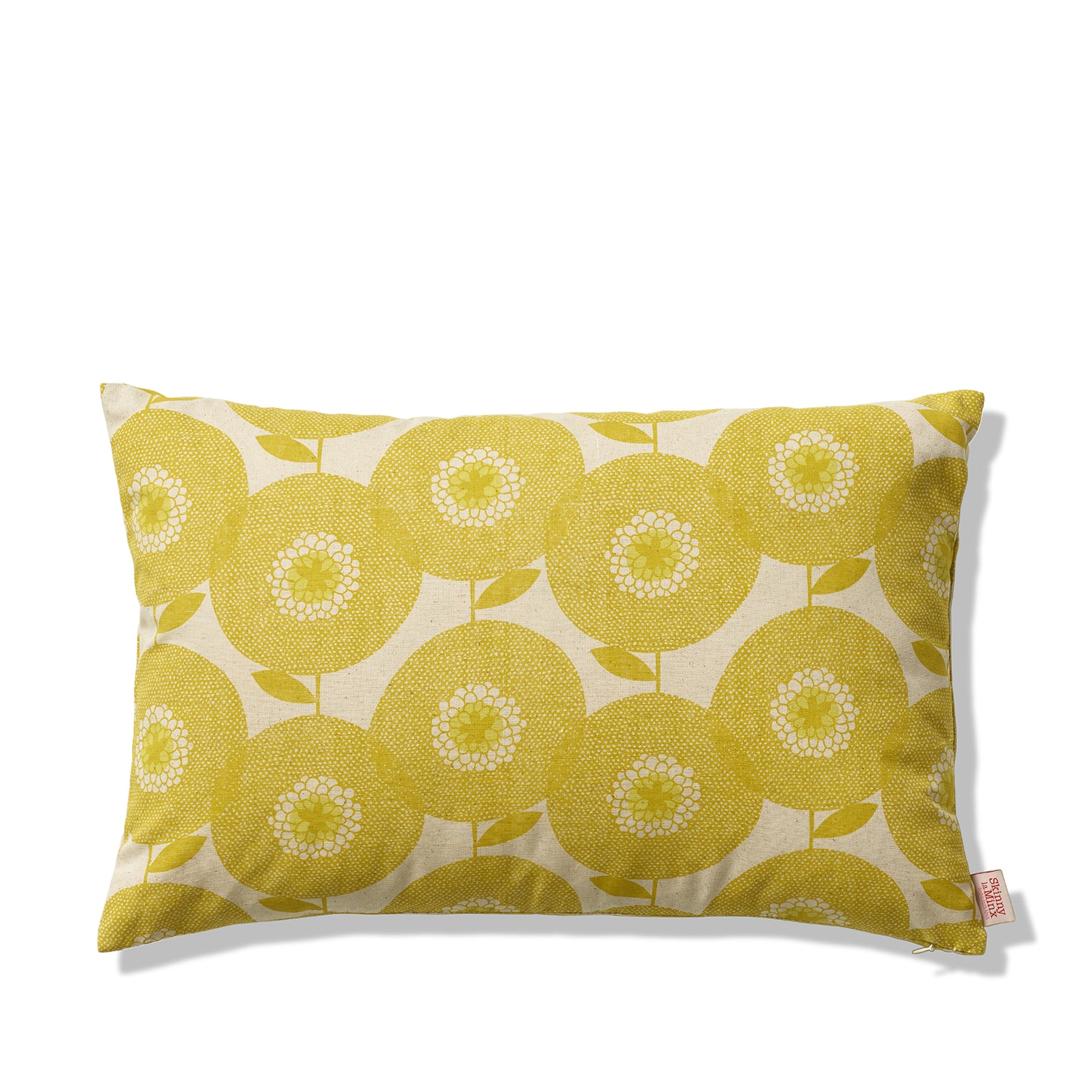 Flowerfields Pillow in Goldenrod Zoom Image 1