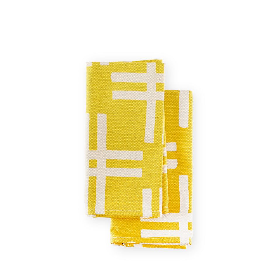 Weft Napkins in Sunray (Set of 2) Image 1