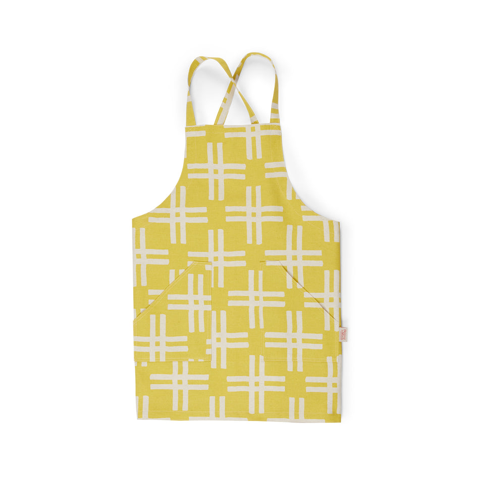 Weft Pinny Apron in Sunray Image 1