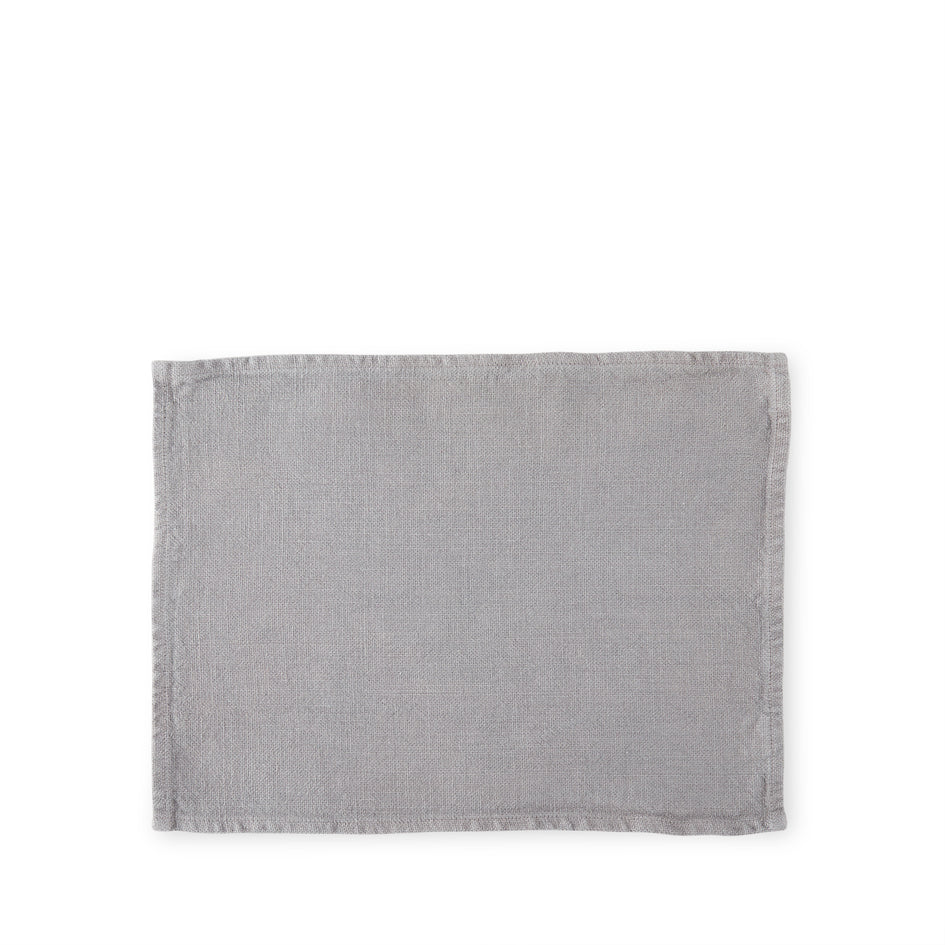 Wilde Linen Placemat in Stinson Grey Image 1