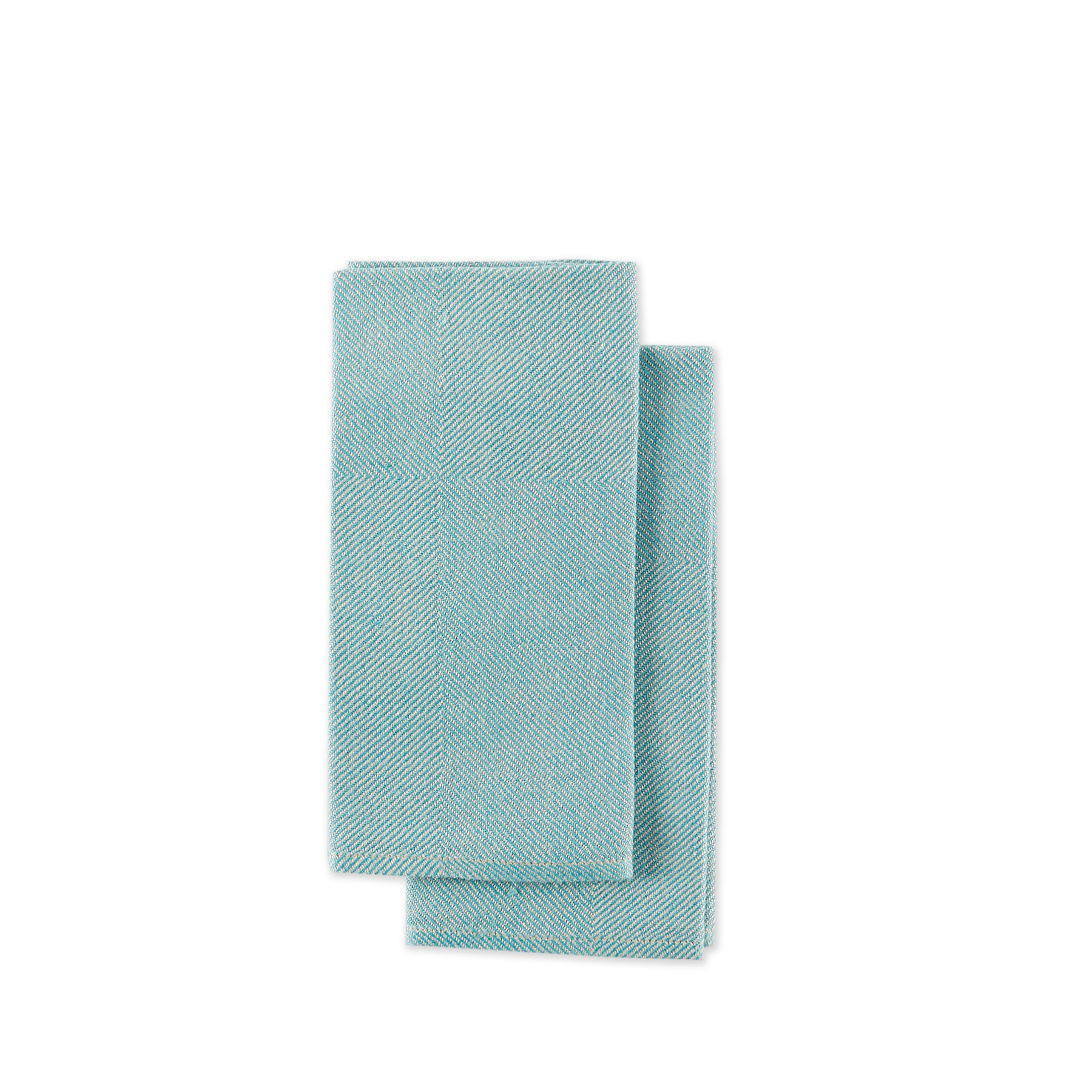 Kypert Napkins in Turquoise (Set of 2) Zoom Image 1