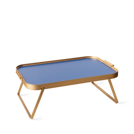 Bed Tray in Cobalt