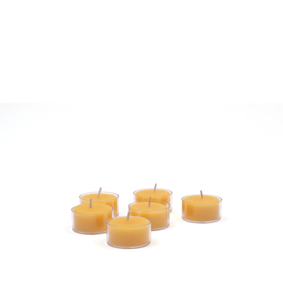 Beeswax Tea Lights (Set of 6) Image 1