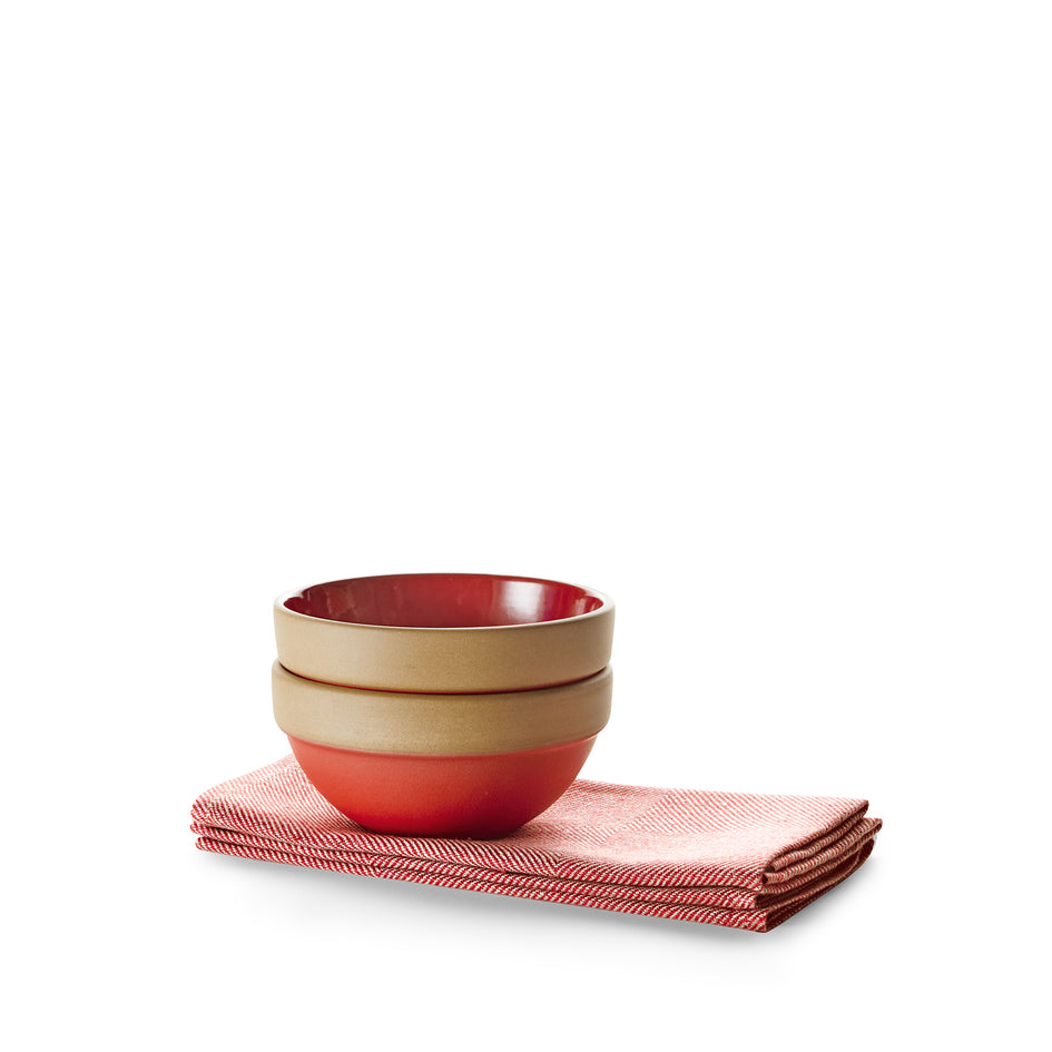 Bowl and Napkin Set Image 1