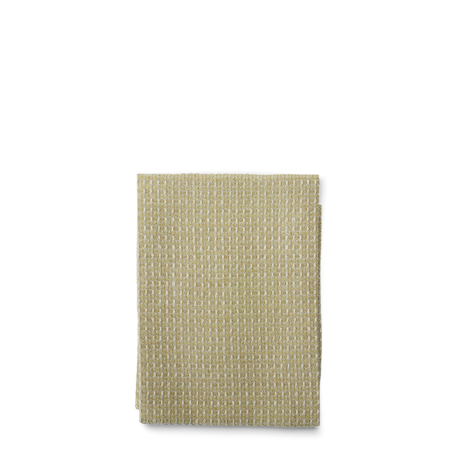 Bubbel Tea Towel in Olive Image 1