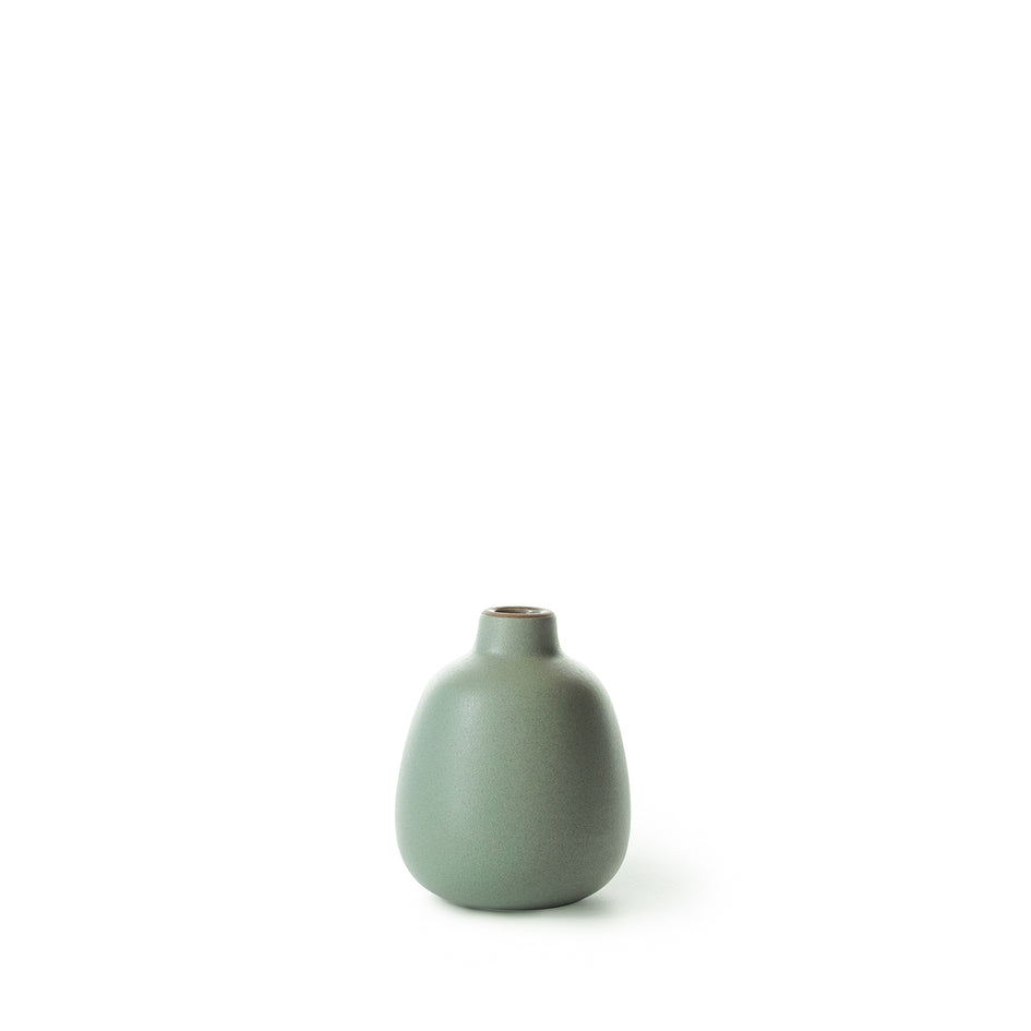 Bud Vase in Penny Green Image 1