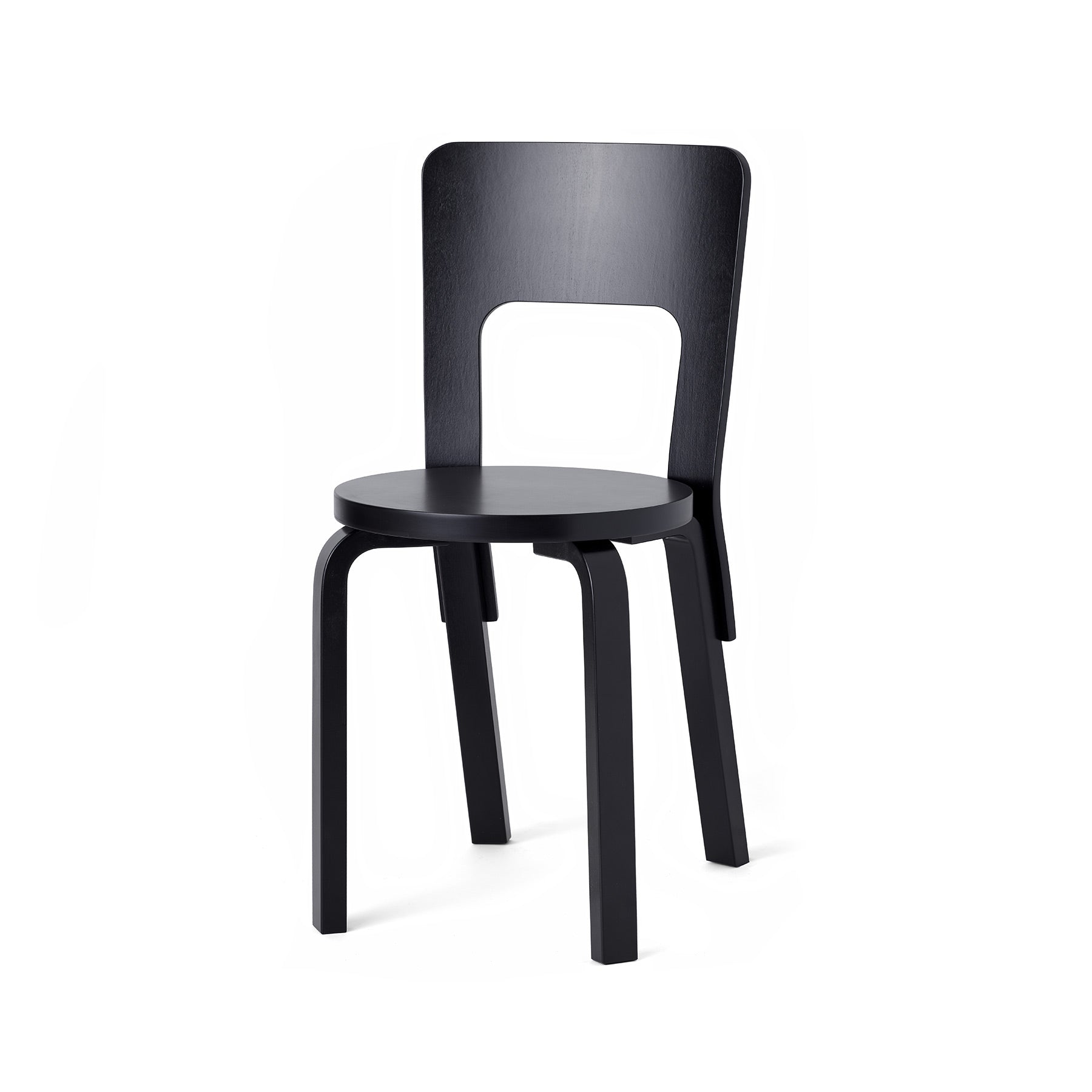 Chair 66 in Black Zoom Image 1