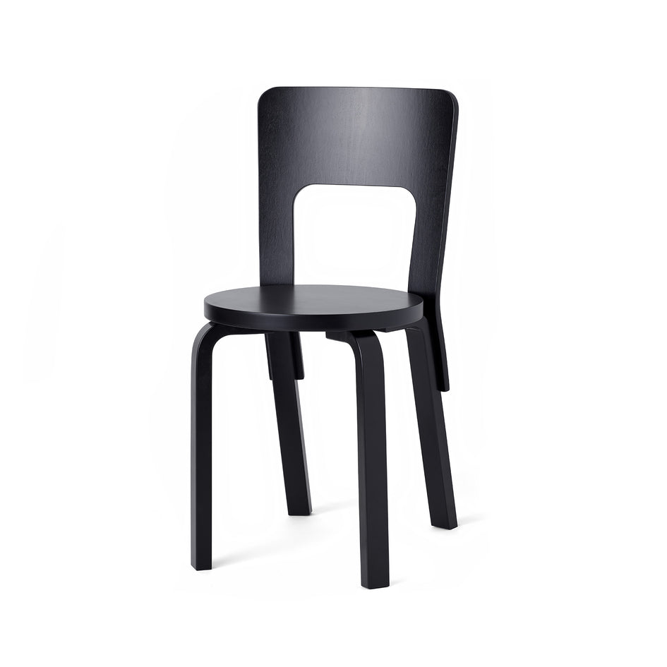 Chair 66 in Black Image 1