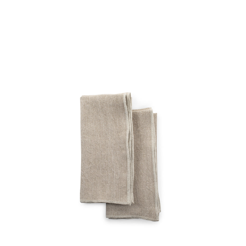 Chalk Napkins with Purl Stitch (Set of 2) Zoom Image 3