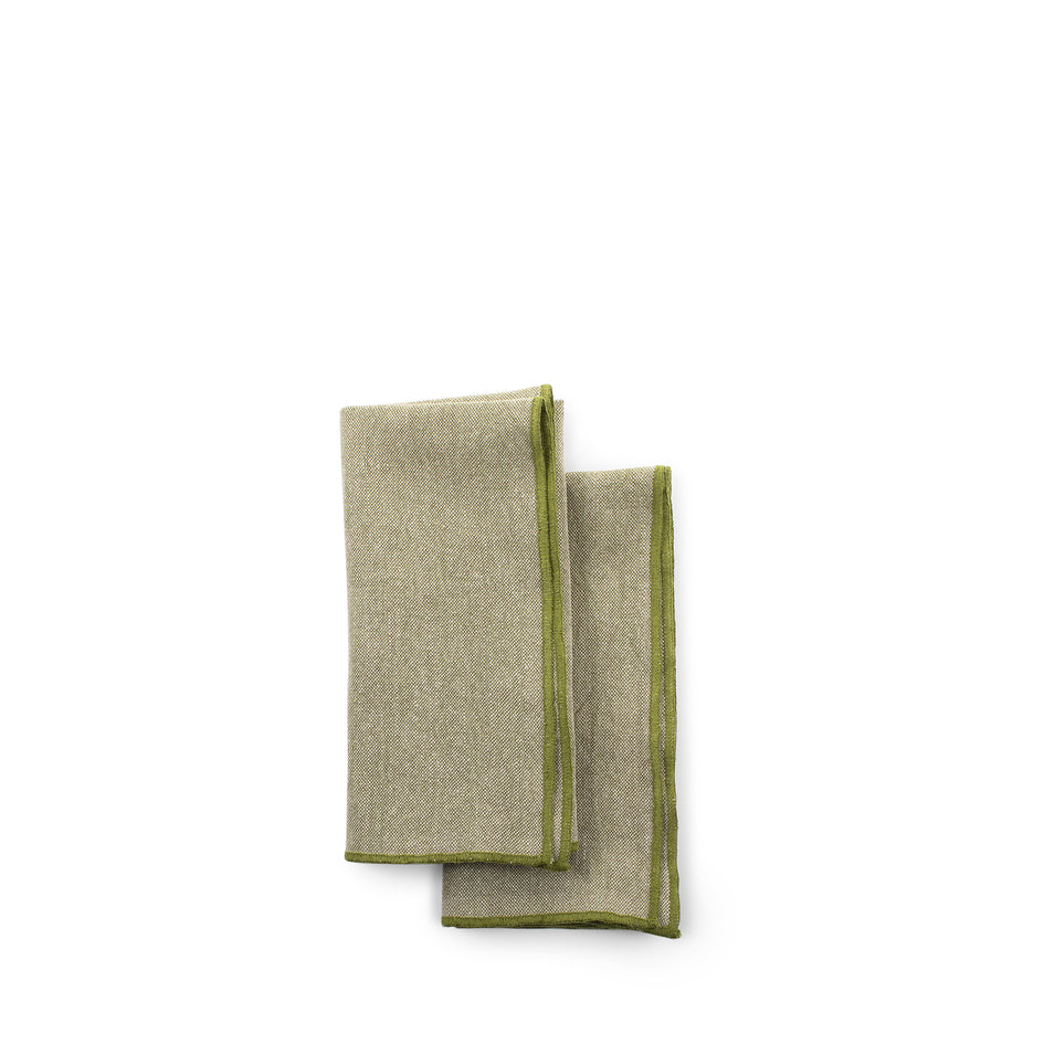 Chalk Napkins with Purl Stitch (Set of 2) Zoom Image 4