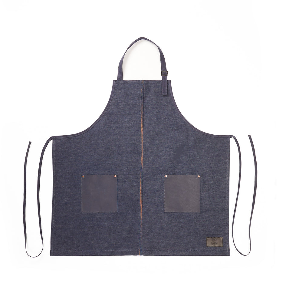 Classic Apron in Midnight Image 1