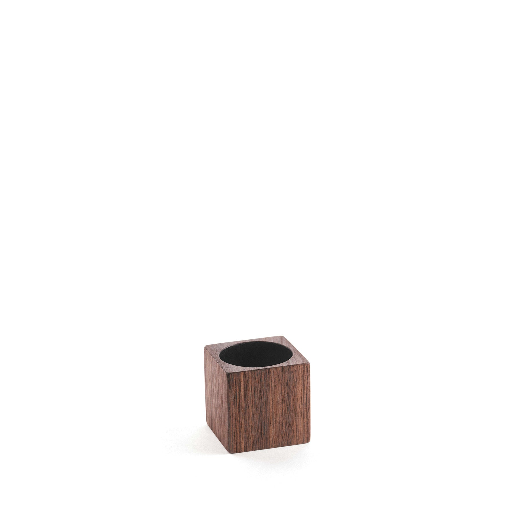 Black Walnut Cube Cup Zoom Image 1