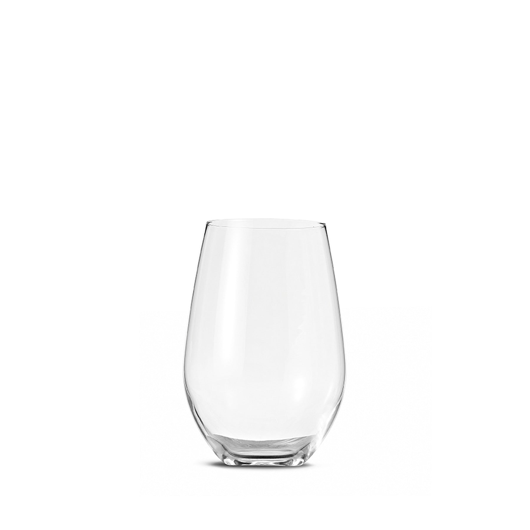 Curved Glass Tumbler 16 oz (Set of 6) Zoom Image 1