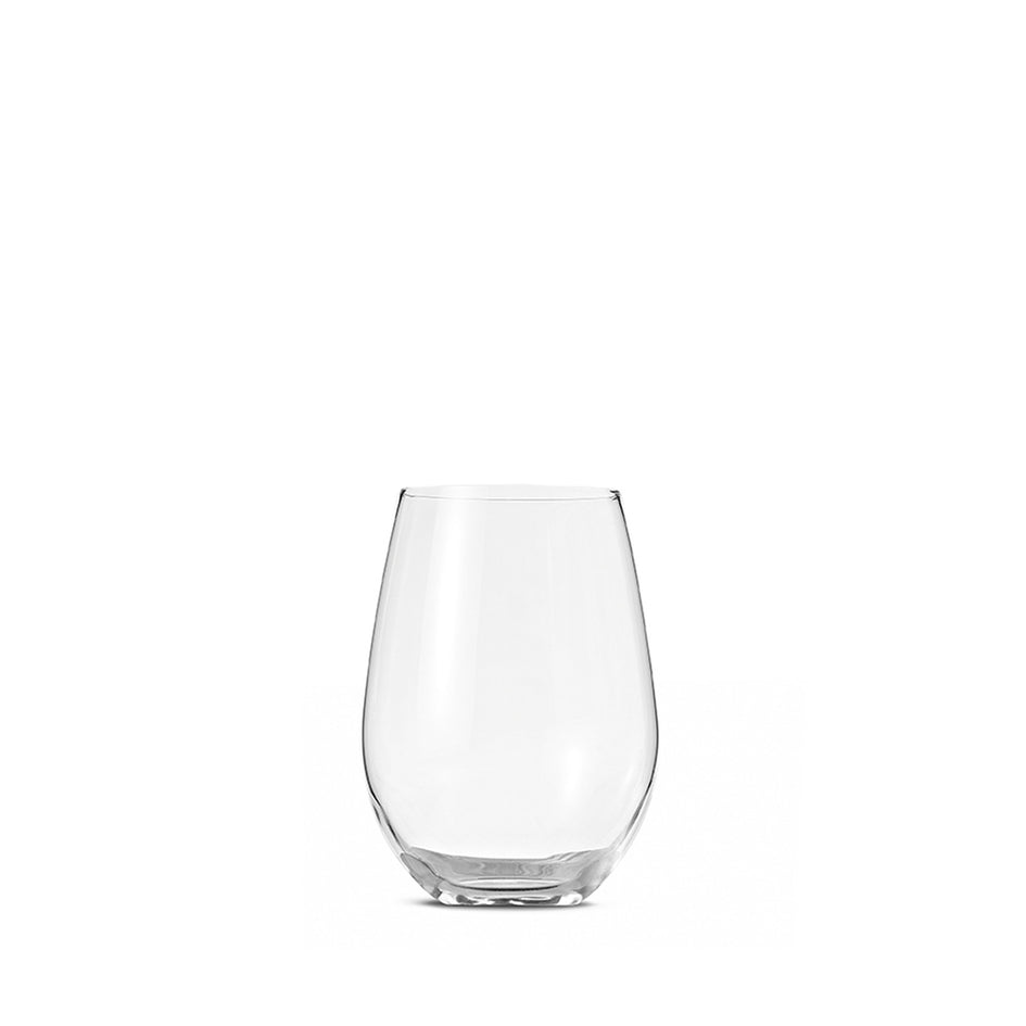 Curved Glass Tumbler 12.5 oz (Set of 6) Image 1